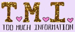 Krista Suh TMI Blog Logo
