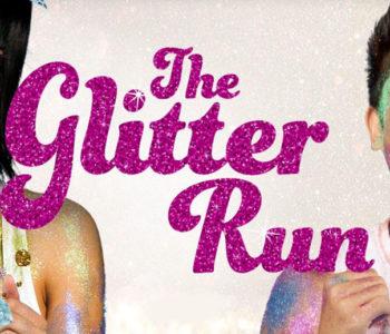 Glitter Run LA Event Banner