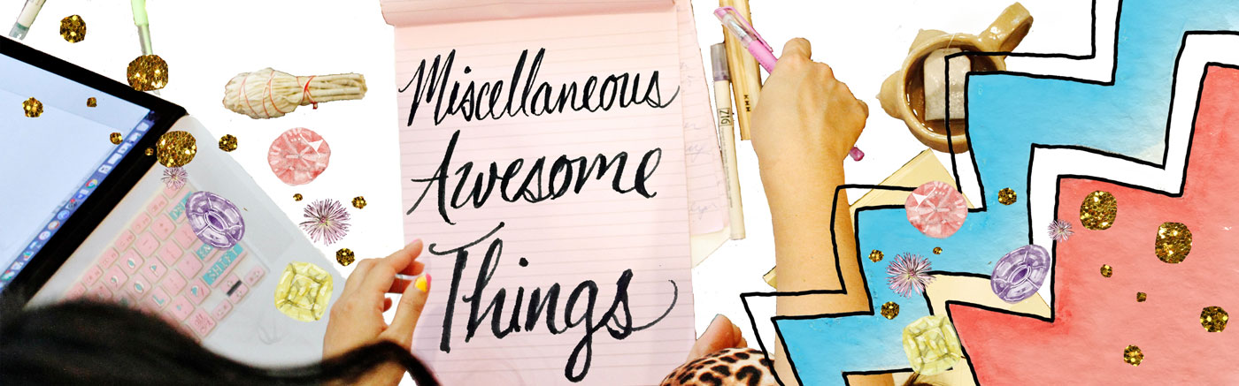 Miscellaneous Awesome Things Header Image