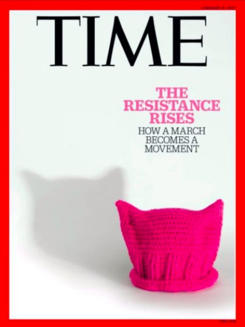Time's Powerful New Cover Reminds The World The Resistance To Trump Has Arrived