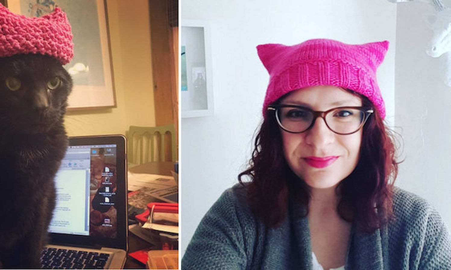 'Pussyhats' Are The Fashion Choice Of Women's March On DC