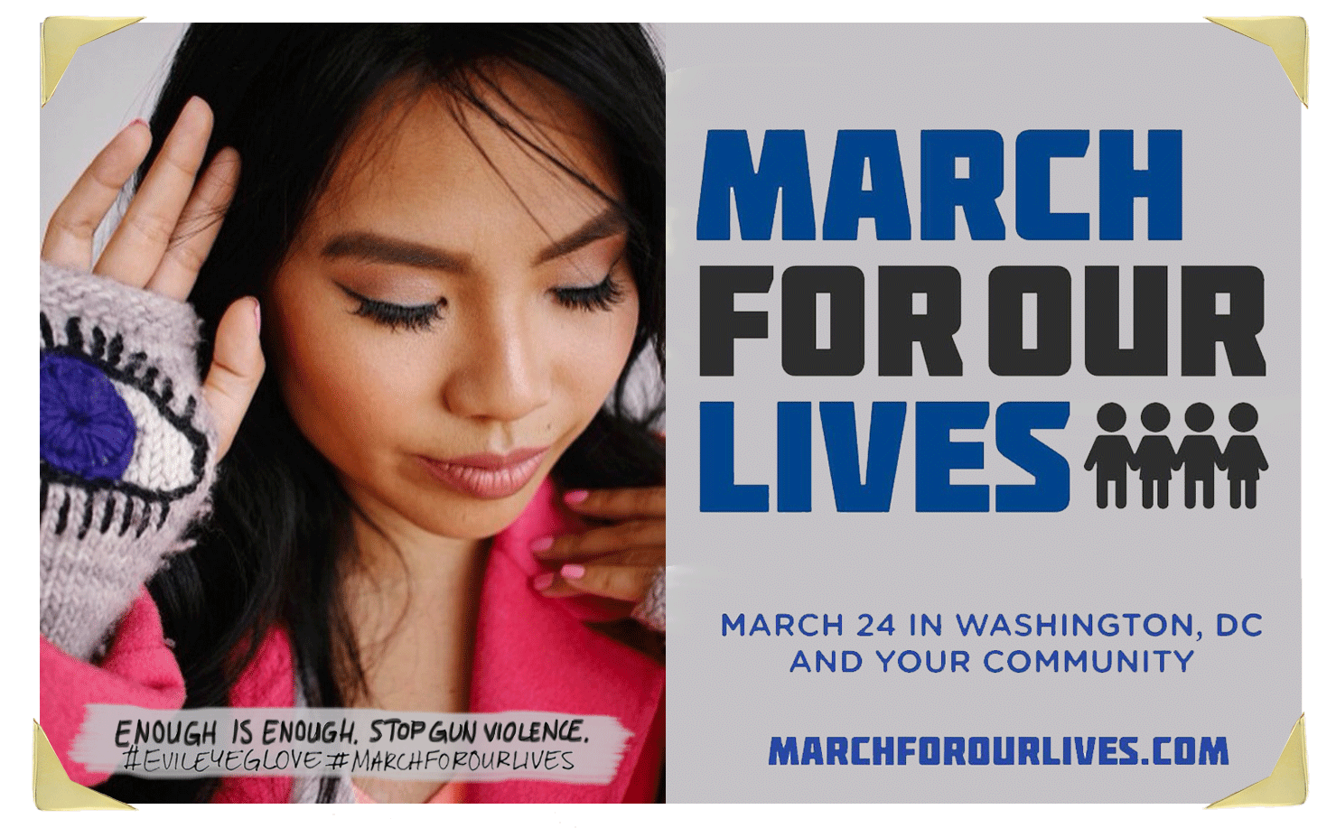 Krista Suh March for Our Lives