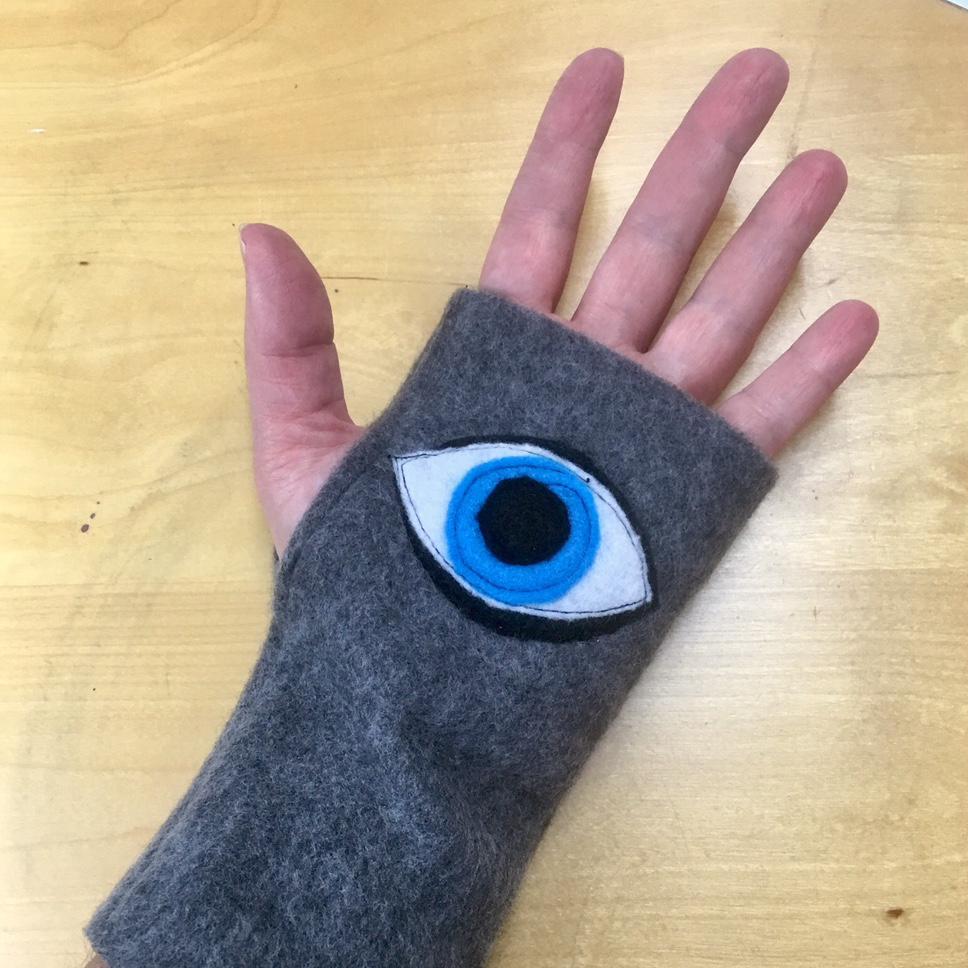 Evil Eye Glove Sewing Pattern by Ann Silberlicht