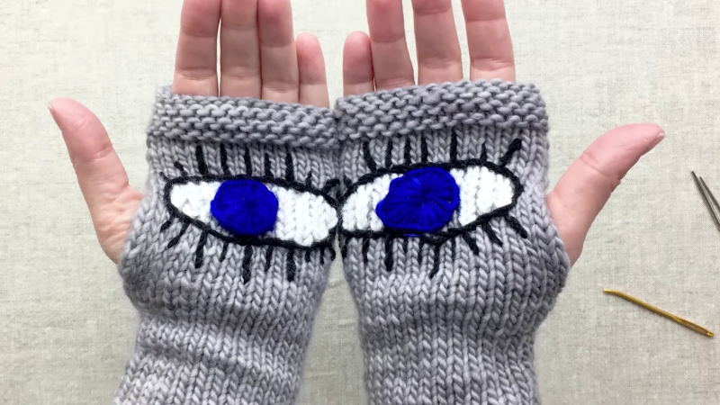 How to Knit 'Evil Eye Gloves,' the Pussyhat of the March For Our Lives Rally