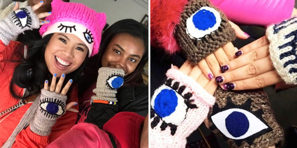 This Is Why Everyone Was Wearing Evil Eye Gloves at the March for Our Lives