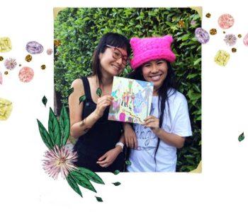 Krista Suh and Yumi Sakugawa