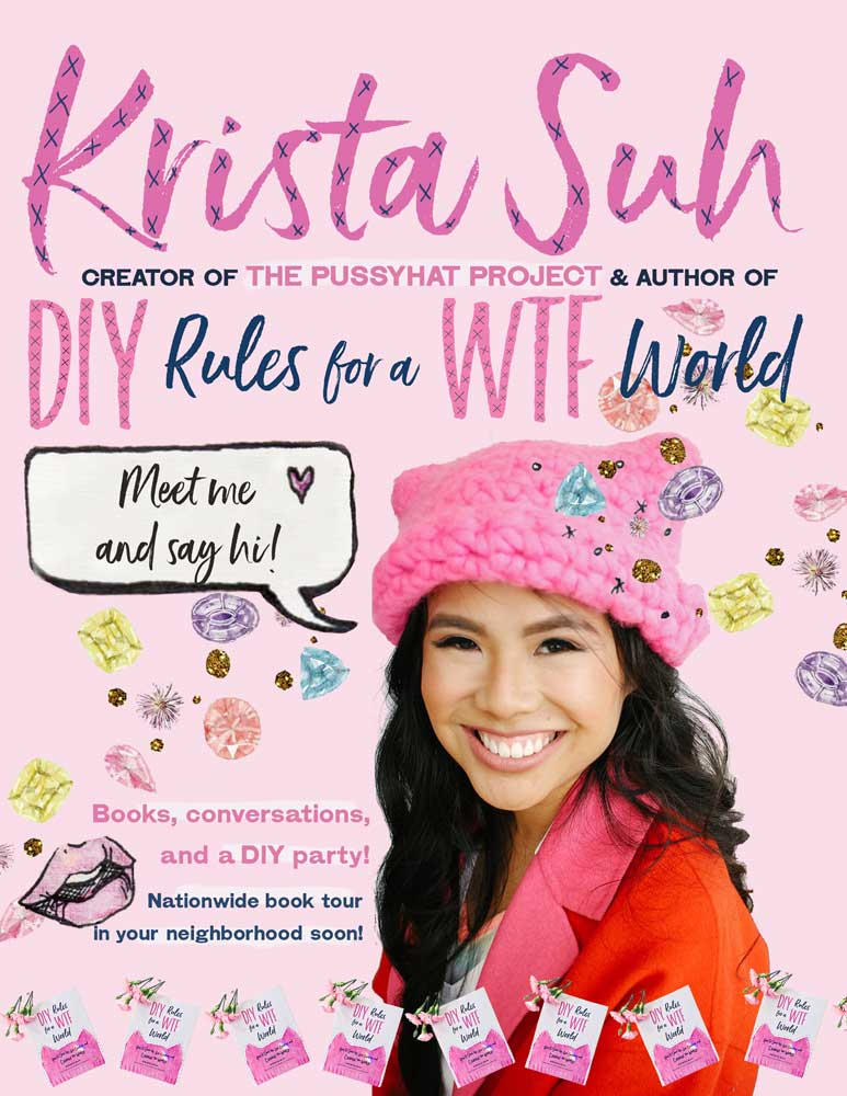 Krista Suh Book Tour Coming Soon to a Neighborhood Near You
