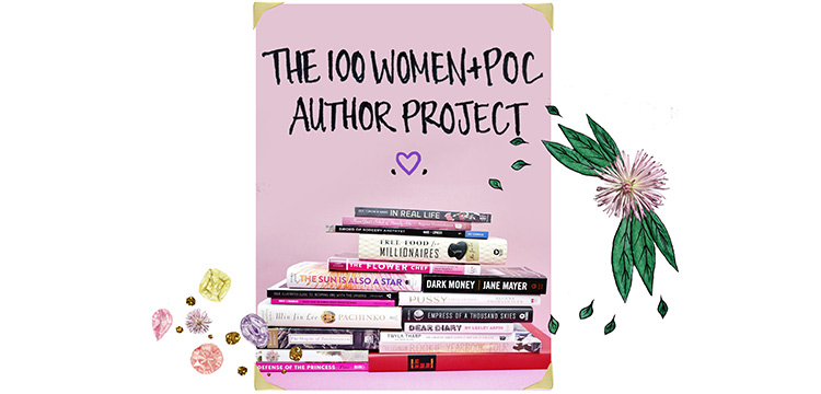 100 Women and POC Author Project