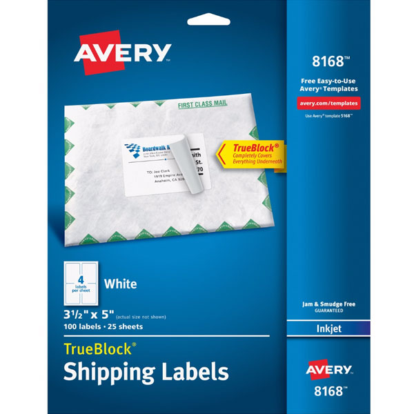 Avery Label #8168 Product Image