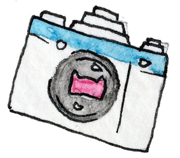 International Center of Photography Illustrated Camera