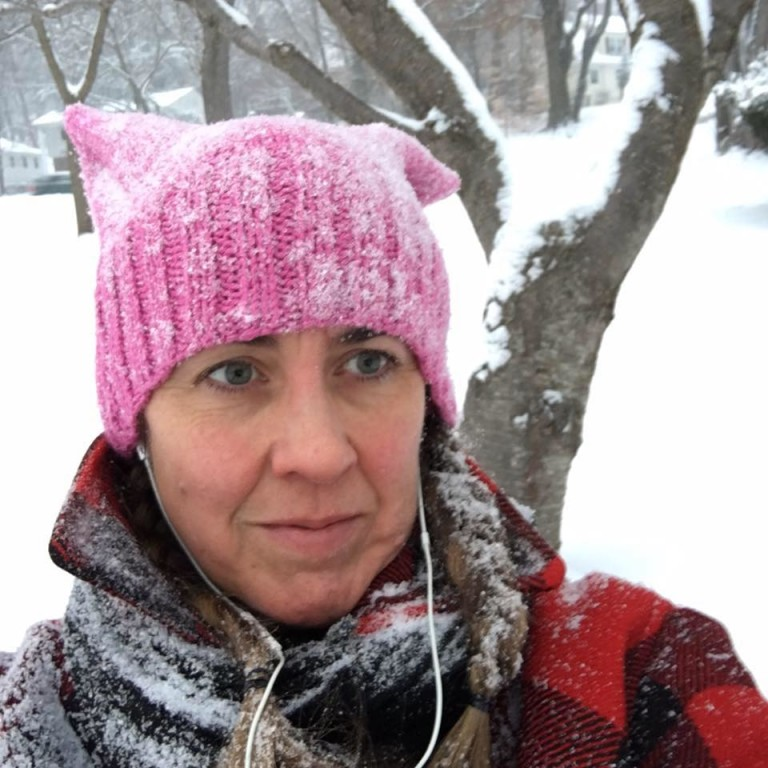 SOMA Knitters Make Pink Pussyhats Galore for Inauguration Protest