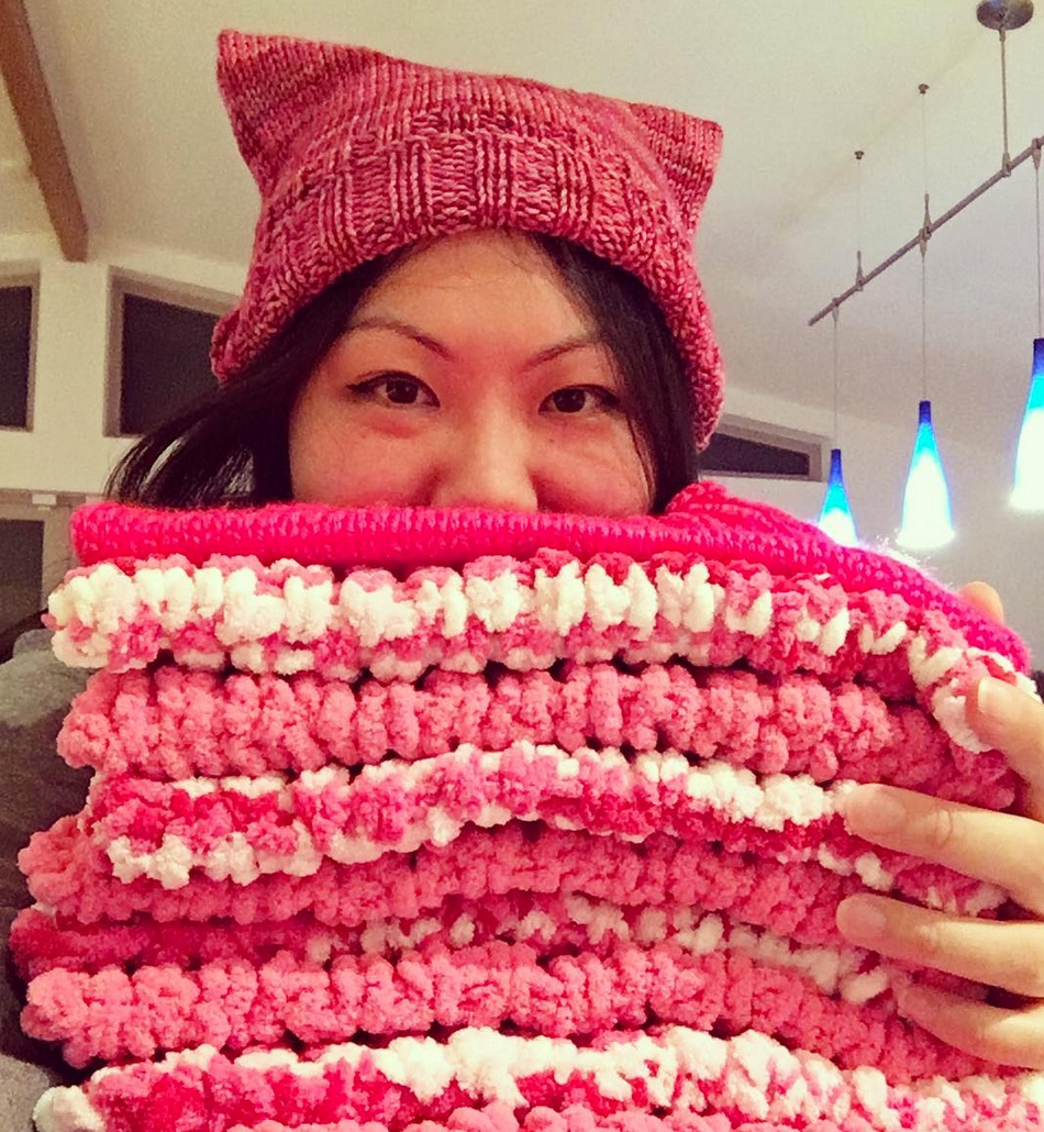 You Can Now Support The Women S March On Washington By Knitting A