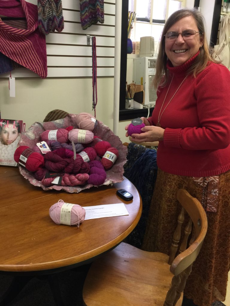 Catch 'Pussy Hat' Knitting Craze — Thanks to the President-Elect, Pink Yarn is Flying Off Local Shelves