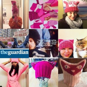"""The XX Factor What Women Really Think Jan. 6 2017 1:43 PM Knitters Across the Country Are Making Cat-Ear """"Pussyhats"""" for the Women's March"""