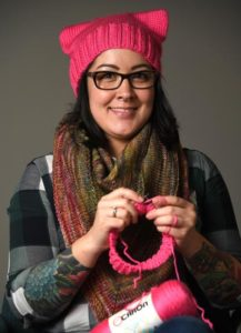 'Pussyhats' project has crafters across the country knitting hats for Women's March on Washington