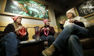 Richmond area groups knit pink hats for Women's March on D.C.