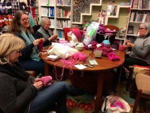 Kirkland knitters join Pussyhat Project, national movement