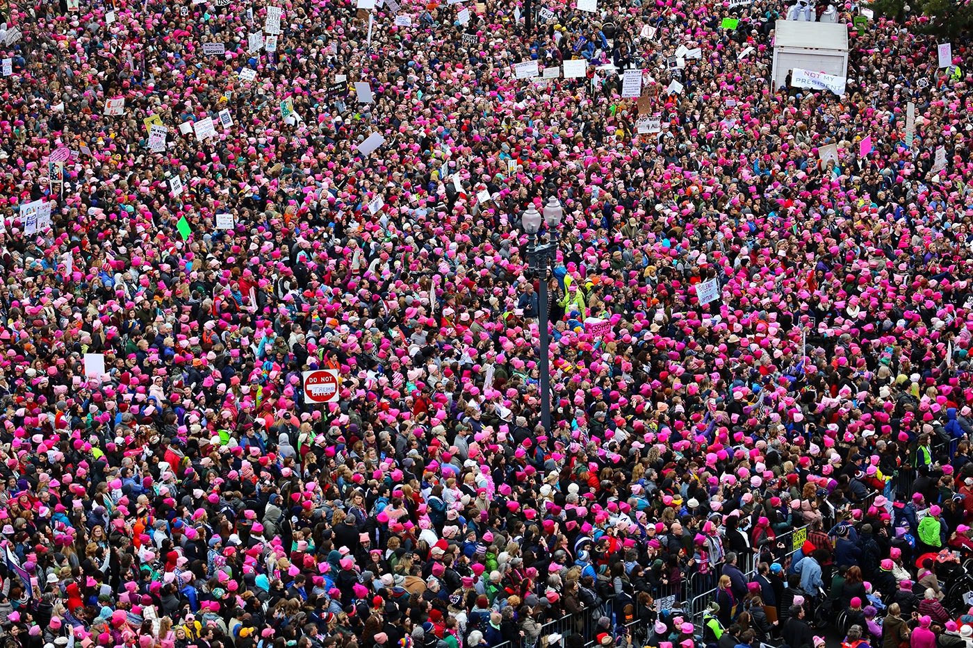 The Pink Pussyhat wins the first Annual Brand of the Year