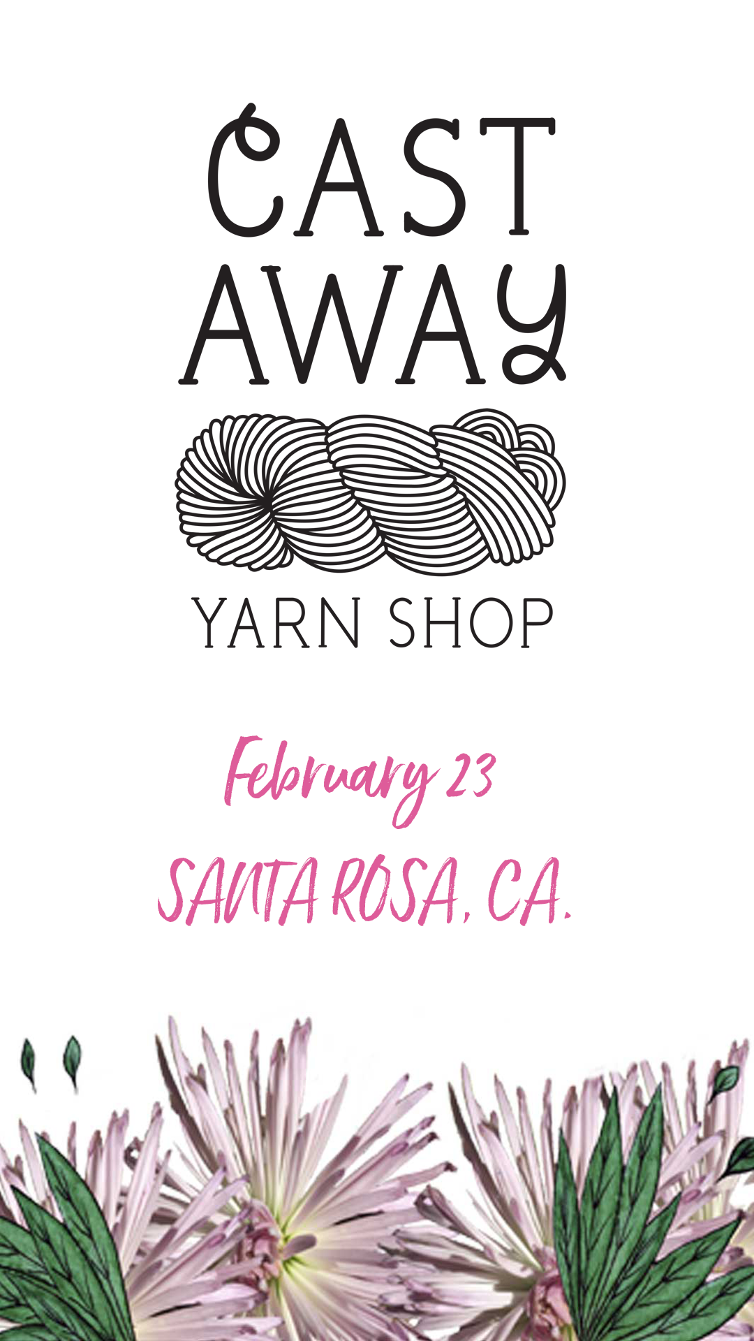 Cast Away Yarn Shop Santa Rosa, CA
