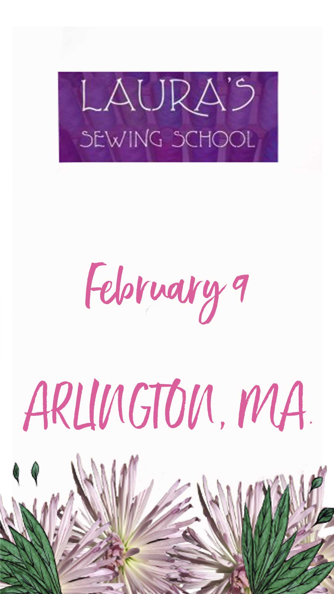 Laura's Sewing School Arlington, MA