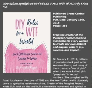 New Release Spotlight on DIY RULES FOR A WTF WORLD by Krista Suh