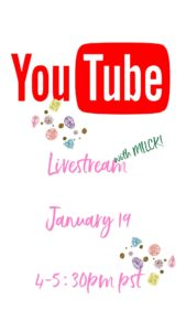 YouTube Livestream with MILCK