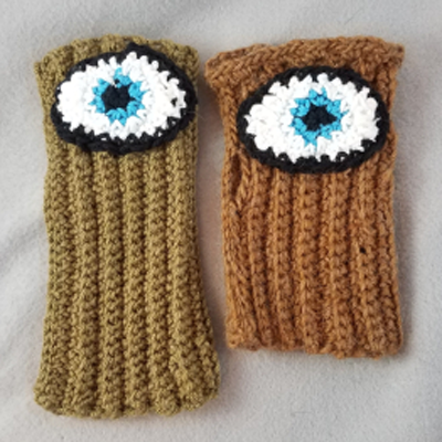 Evil Eye Glove Crochet Pattern by Jessica Beres