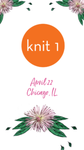 Book Signing at Knit 1 Chicago, IL