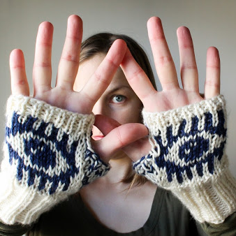 Evil Eye Glove Knit Pattern by Craftimism