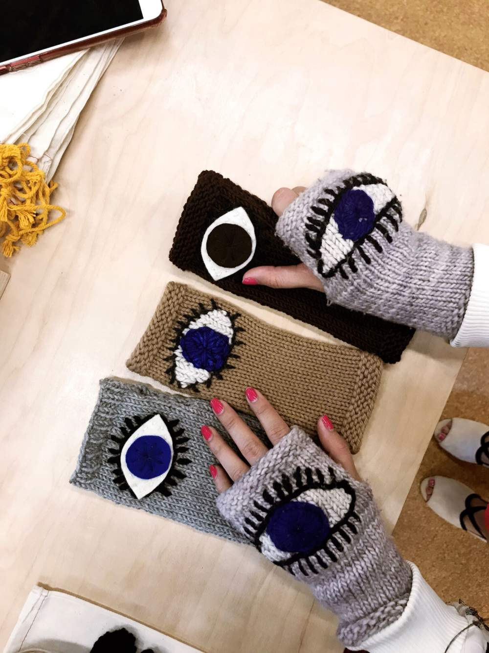 Defiant Accessories: Pussyhat Founder  Launches Statement Gloves To Combat Gun Violence