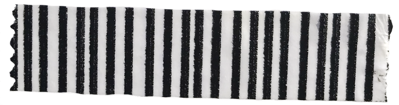 Black and white striped washi tape