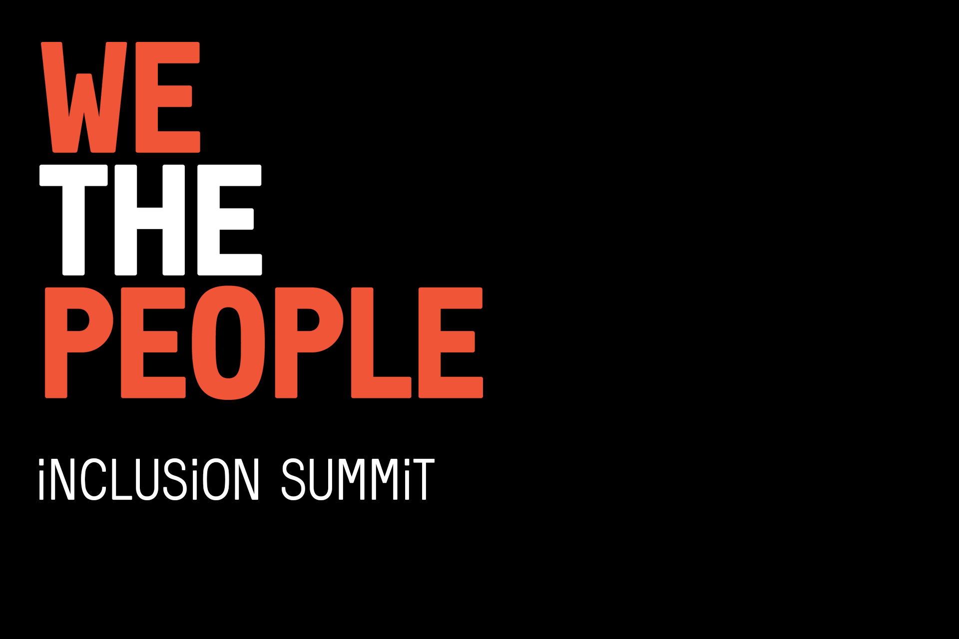 We the People Inclusion Summit