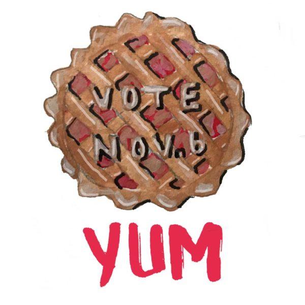 Apple Pie Vote November 6th