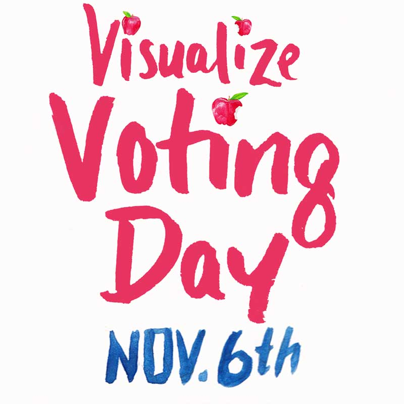 Visualize Voting Day November 6th