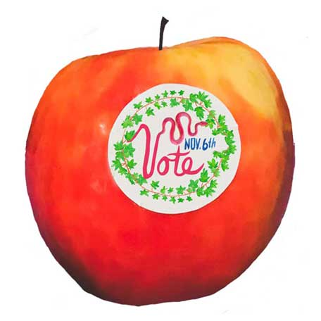 Printable Vote Stickers