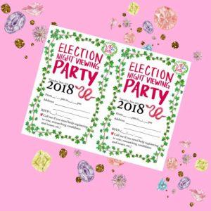 Election Night Party Invitation
