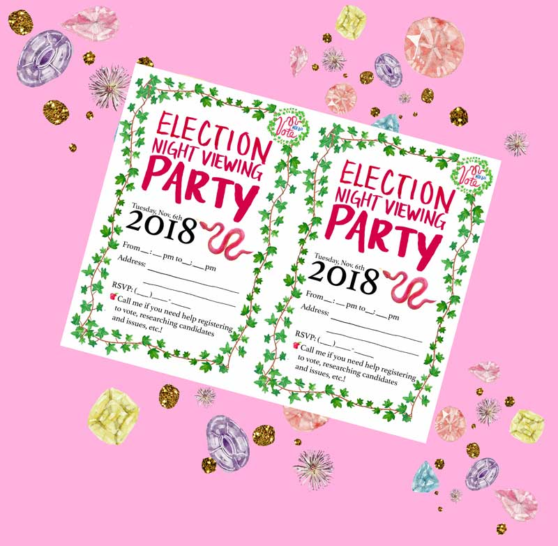 Election Night Party Invitation