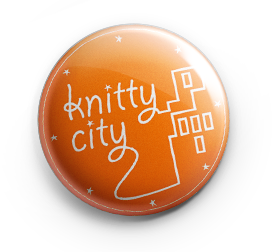 Knitty City Button