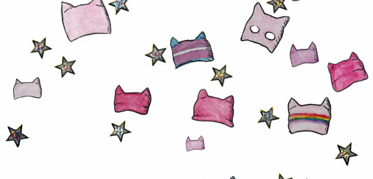 Pussyhats and stars
