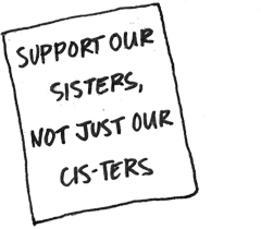 Support our sisters