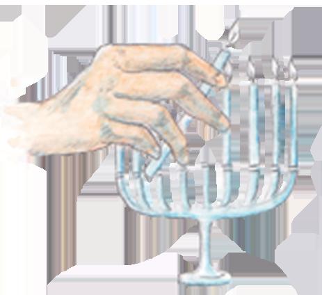 Hand Menorah