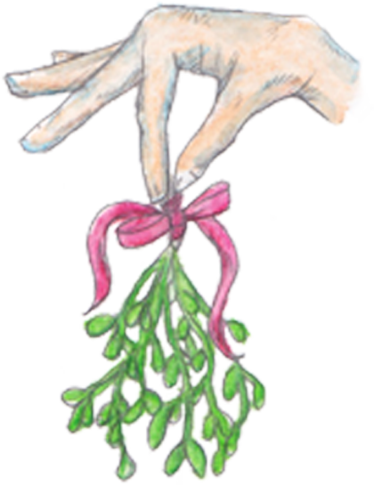 Hands Mistletoe