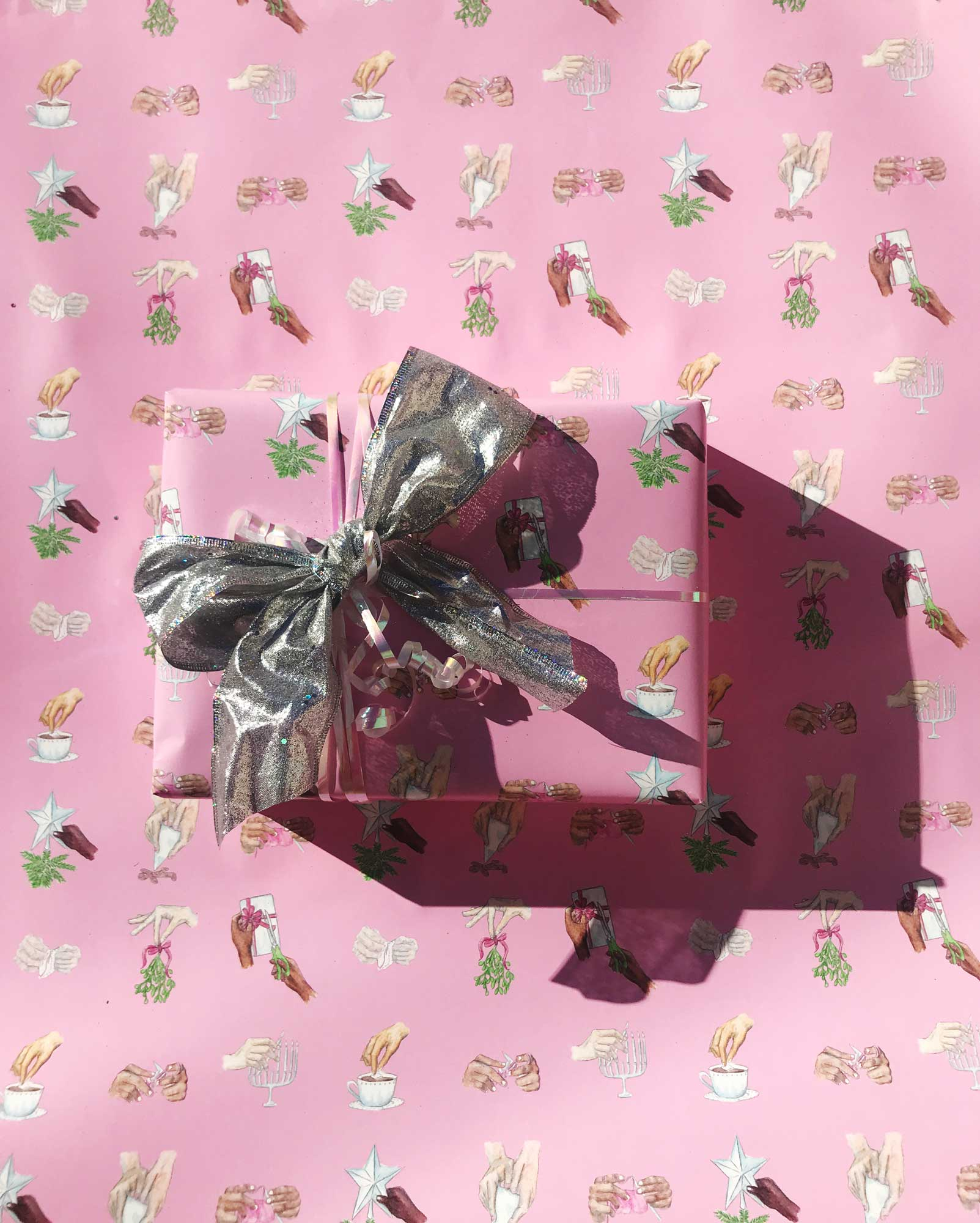 Handmade Holidays Gift Wrap