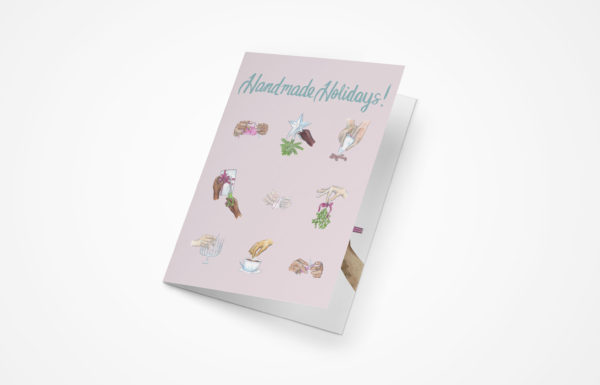 Handmade Holidays Greeting Card