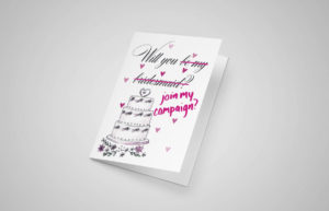 Will You Join My Campaign? Greeting Card
