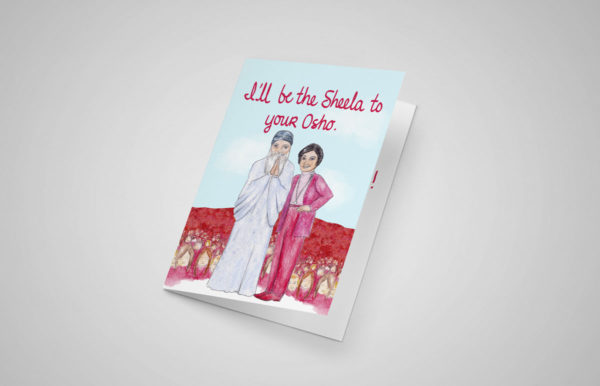 Sheela to Your Osho 5x7 Greeting Cards
