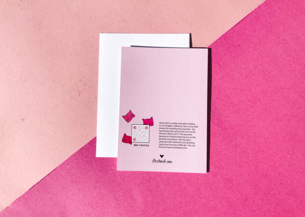 It's a Woman's World 5x7 Greeting Cards