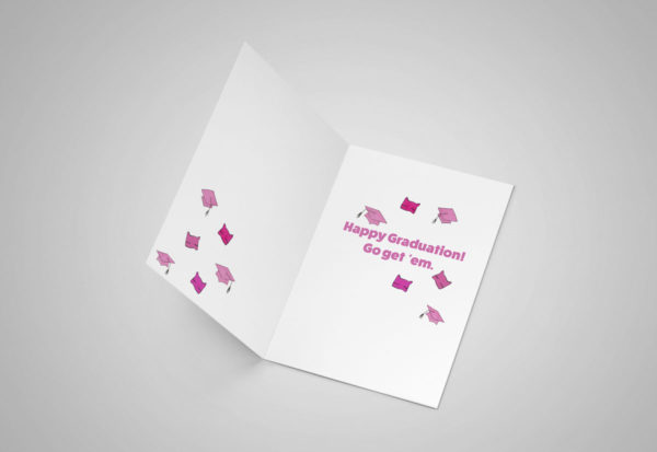 It's a Woman's World 5x7 Greeting Card
