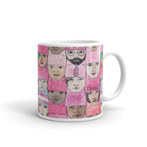 Women's March Faces Mug