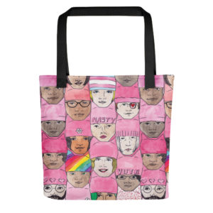 Women's March Faces Tote